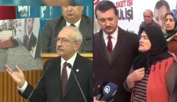 Kılıçdaroğlu'nun gösterdiği fotoğraftaki teyze konuştu