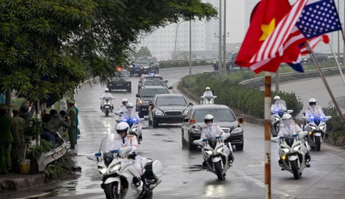 Kuzey Kore'den trenle çıkan Kim, Vietnam'a ulaştı
