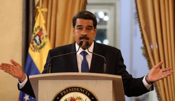 Maduro'dan Trump yönetimine sert sözler