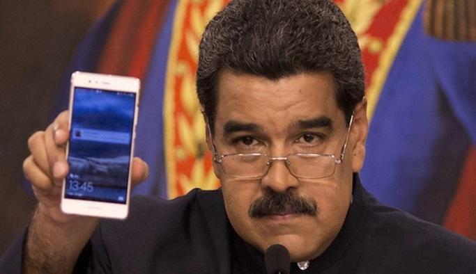 Maduro canlı yayında Guaido'yu aradı