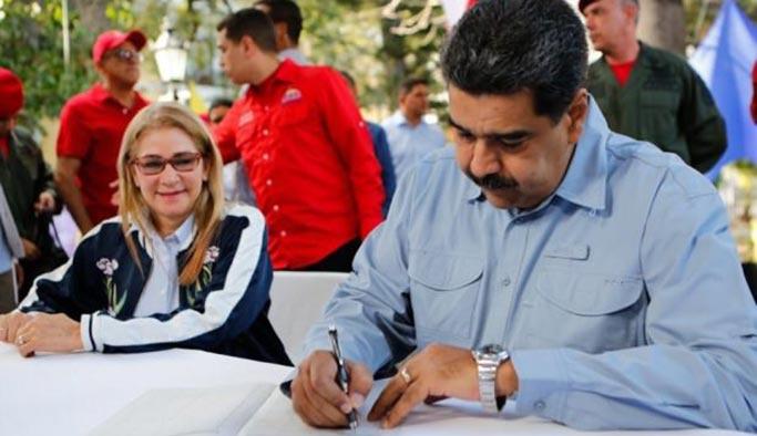 Maduro'dan ABD halkına hitaben bildiri