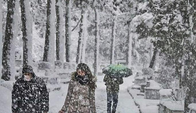 Meteoroloji 8 il için kar alarmı verdi