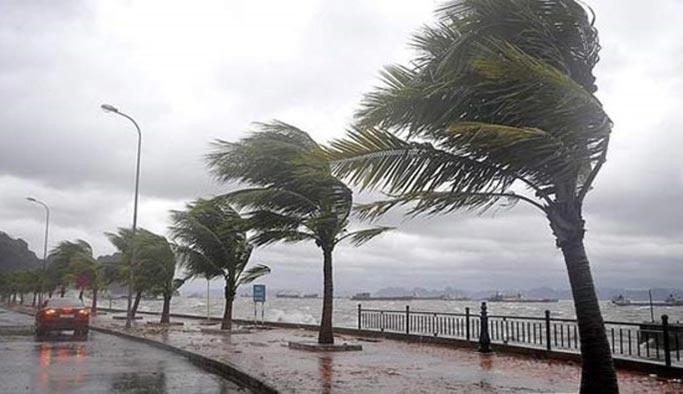 Meteorolojiden kuvvetli fırtına