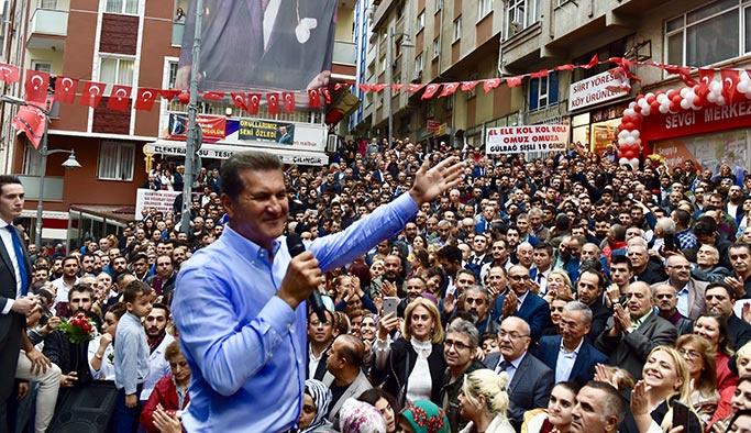 Mustafa Sarıgül Şişli'de ilk anketi yaptırdı