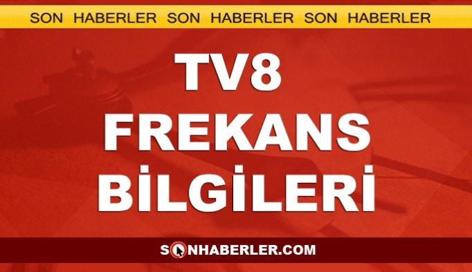 TV8 Canlı Yayın İzle - TV8 Frekans Bilgileri - TV8 Yayın Akışı