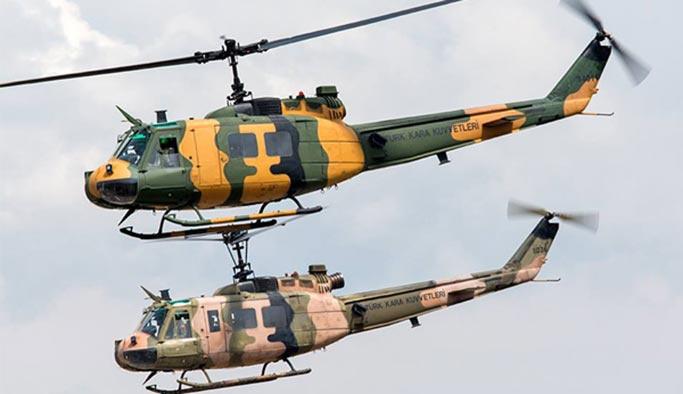 UH-1 helikopterler için tüm seçenekler masada