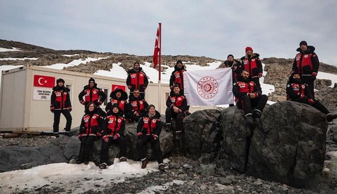 Varan: Antarktika'da bilim üssünü kurduk