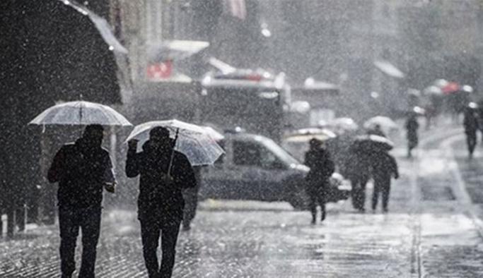 15 Mart Cuma hava durumu: Kuvvetli sağanak yağış uyarısı