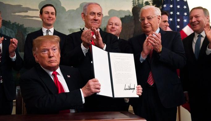 AB'den ABD'nin Golan Tepeleri kararına tepki