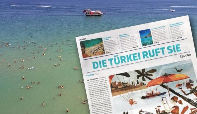 Alman gazetesinden Türkiye'de tatil önerisi
