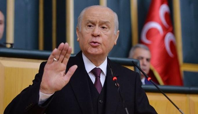 Bahçeli: Ankara zillete teslim olmayacaktır