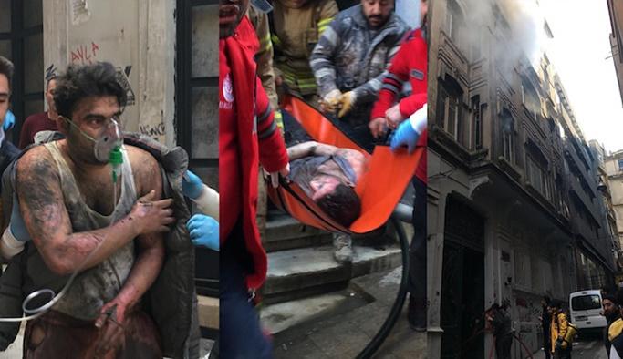 Beyoğlu'nda yangın: 4 kişi hayatını kaybetti