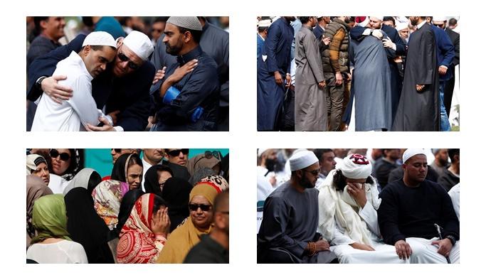 Binlerce kişi birlikte saf tuttu, Başbakan da katıldı