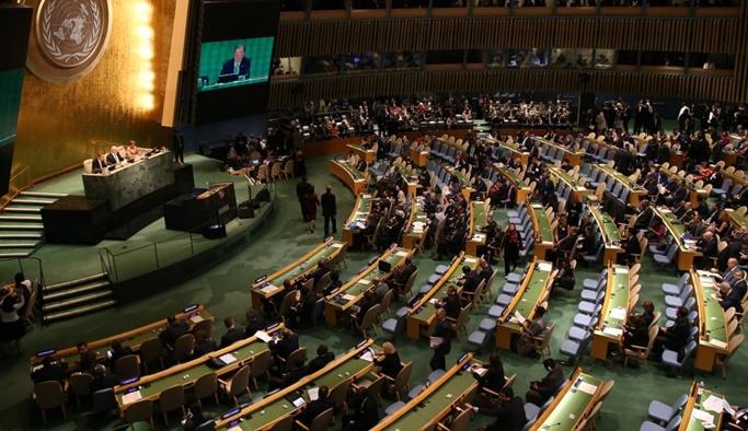 BM, İsrail'i kınayan tasarıyı kabul etti