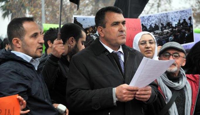 CHP'nin adayı Öcalan'a özgürlük eyleminde