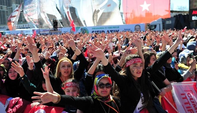 Cumhur İttifakı'ndan Ankara'da gövde gösterisi