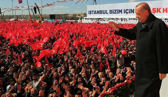 Cumhurbaşkanı Erdoğal İstanbul projelerini açıkladı