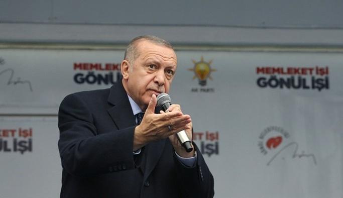 Erdoğan: Fiyatlar düşerse sahadan çekiliriz