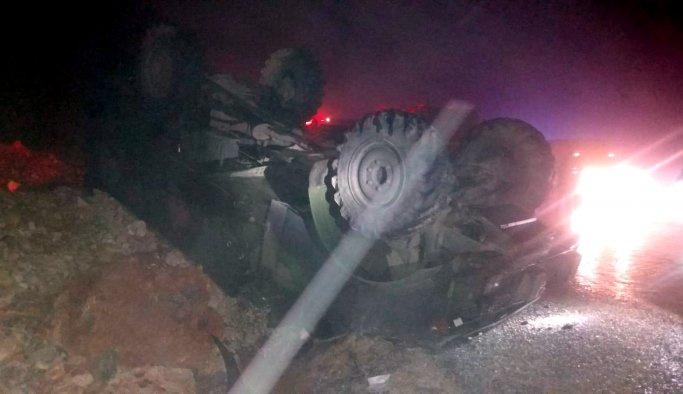 Hatay'da askeri araç kazası, 5 yaralı