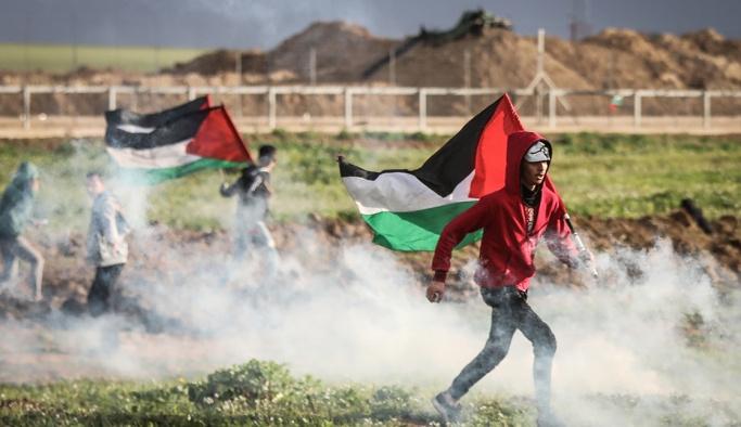 İşgal güçleri Gazze sınırında 21 Filistinliyi yaraladı