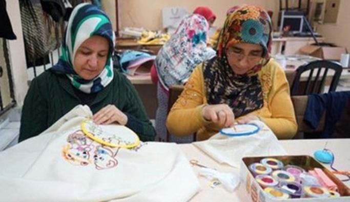 İŞKUR'dan ev hanımlarına aylık 800 liraya çalışma imkanı