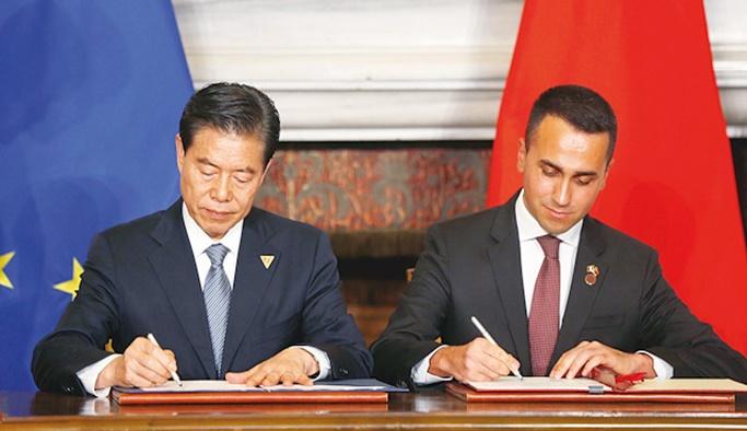 İtalya AB ve ABD'ye rağmen Çin ile imzaları attı