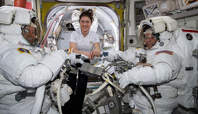 Kadın astronotlara kıyafet sorunu