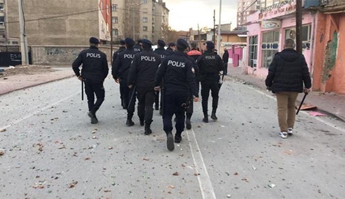 Kavgaya 200 polisle müdahale edildi