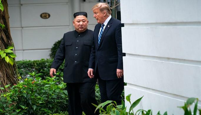 'Kim'e inanıyorum' diyen Trump tepkiler üzerine çark etti
