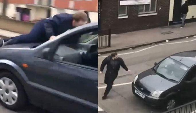Londra'da namazı bekleyen Müslümanlara saldırı