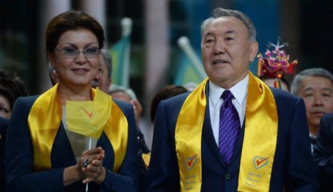 Nazarbayev'in istifasıyla Kazakistan başkentinin adı değişti