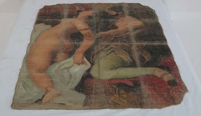 Picasso'nun tablosu Diyarbakır'da ele geçirildi