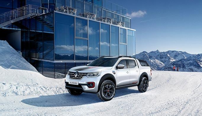 Renault'dan yeni bir özel seri:Alaskan Ice