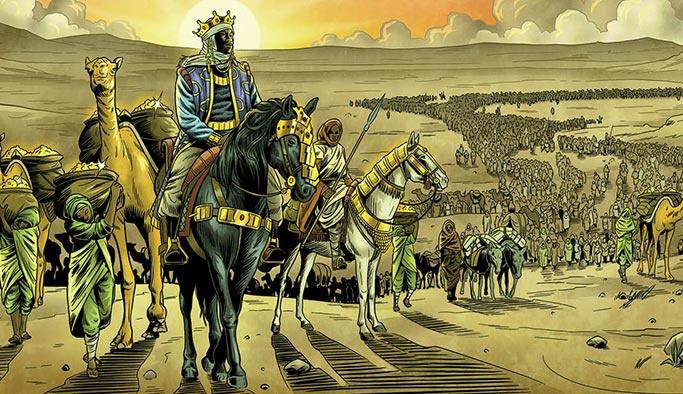 Tarihin gelmiş geçmiş en zengini Müslüman bir kraldı