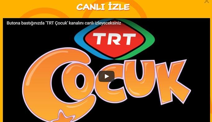 TRT Çocuk Canlı Yayın İzle