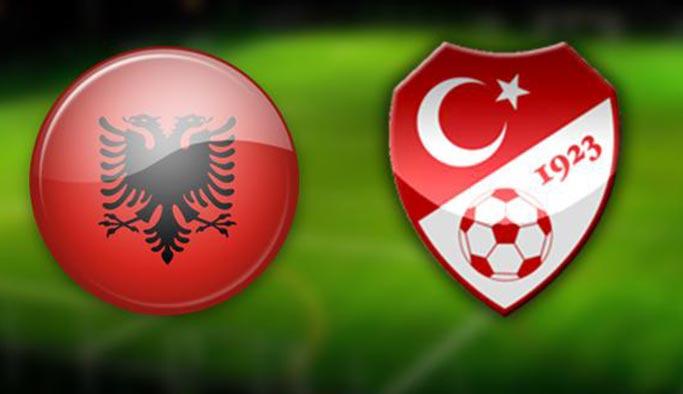 Türkiye Arnavutluk maçı CANLI iZLE