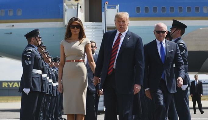 Uçağının ışıkları kapatılan Trump: 7 trilyon dolar harcadık