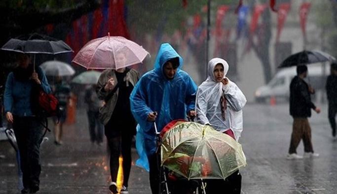 13 Nisan hava durumu - Meteoroloji'den sağanak uyarısı