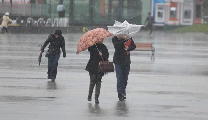 9 Nisan hava durumu - Meteorolojiden uyarı: Fırtına ve yağmur