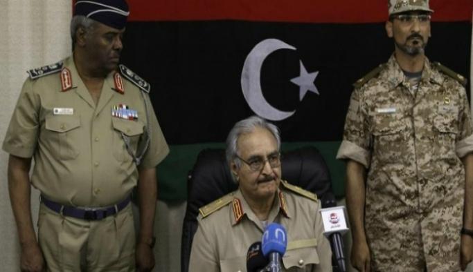 ABD Libya'da meydanı Halife Hafter'e bıraktı