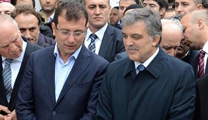 Abdullah Gül, İmamoğlu'nun istediği açıklamayı yaptı (sesiniz daha gür çıksın, demişti)