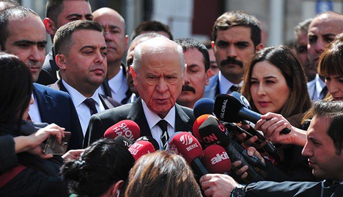 Bahçeli: O adama yumruk attıracak kadar ne yaptın sen Kemal Kılıçdaroğlu.