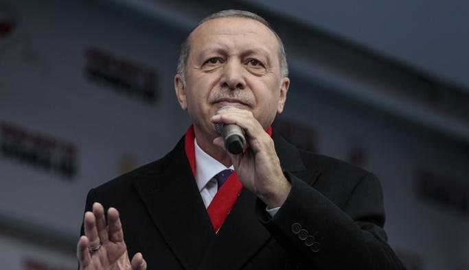 Cumhurbaşkanı Erdoğan'dan Macron'a sert gönderme
