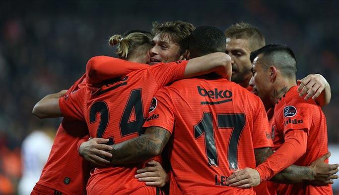 Beşiktaş, Rizespor'u gol yağmuruna tuttu