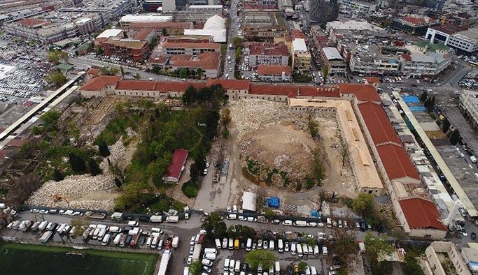 Bittiğinde Türkiye'nin en büyük kütüphanesi olacak