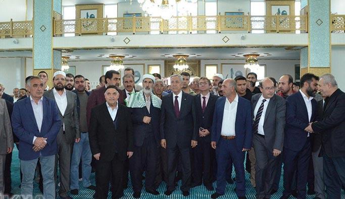 Bülent Arınç Diyarbakır'da cami açılışında konuştu