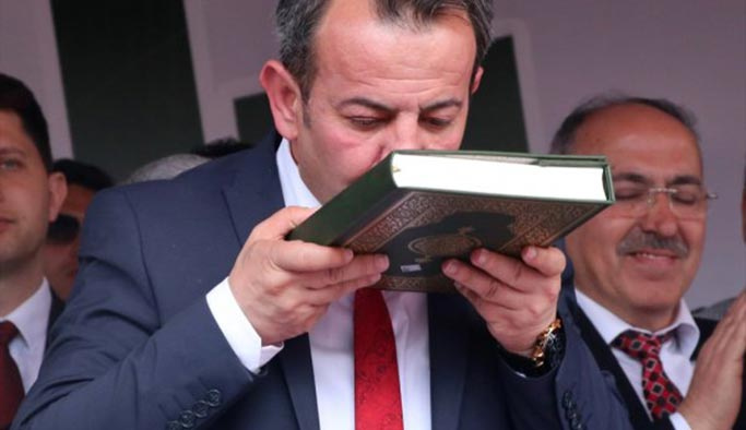 CHP'li başkan göreve böyle başladı
