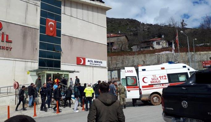 Çukurca'da terör saldırısı, yaralı askerler var