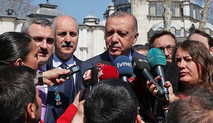 Cumhurbaşkanı Erdoğan: Telaşa gerek yok, nihai kararı YSK verecek
