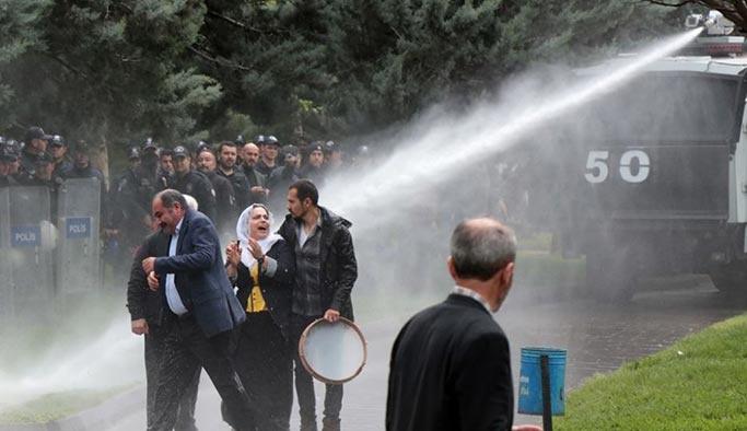 Diyarbakır'da HDP gösterisine müdahale